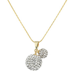Mikey Yellow Crystal Drop Ball Pendant - Product number 1356860
