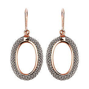 Adami & Martucci rose gold-plated mesh earrings - Product number 1357417