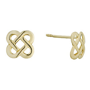 9ct Gold Celtic Stud Earrings - Product number 1357670