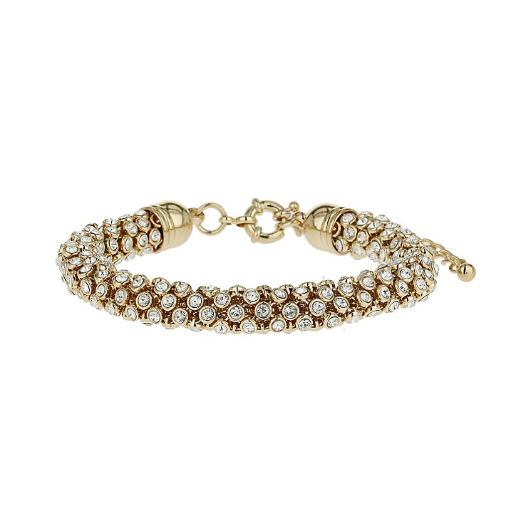 Mikey Yellow Scattered Crystal Bracelet - Product number 1359541