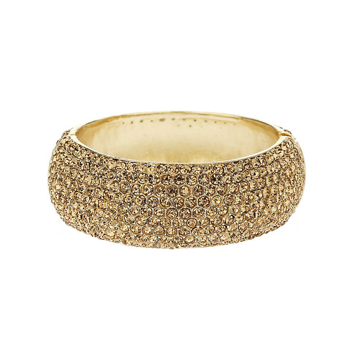 Mikey Yellow Wide Crystal Bangle - Product number 1359576