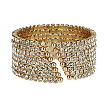 Mikey Yellow 8 Line Crystal Cuff - Product number 1359681