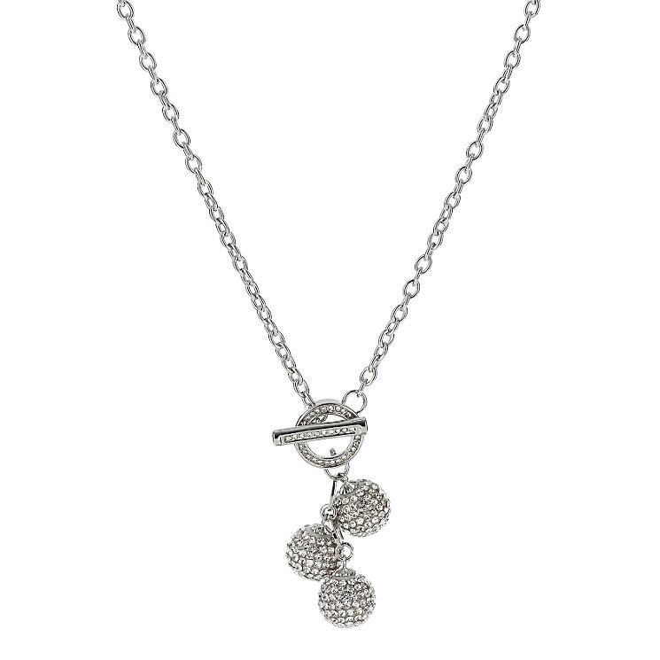 Mikey White Crystal Ball Necklace - Product number 1359738