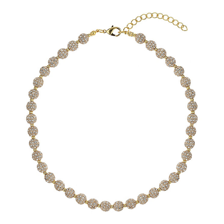 Mikey Yellow Crystal Heavy Necklace - Product number 1359770