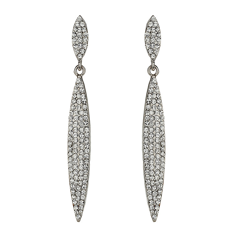 Mikey White Crystal Earrings - Product number 1360019