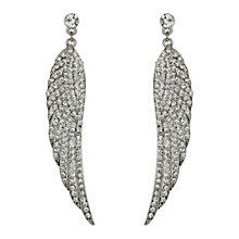 Mikey White Wing Crystal Drop Earrings - Product number 1360108