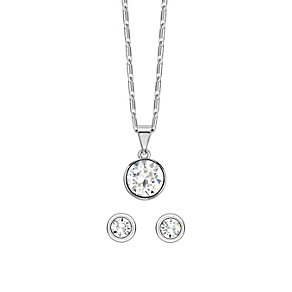 Radiance With Swarovski Crystal Elements Earrings & Pendant - Product number 1360728