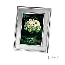 Wedgwood Vera Wang Grosgrain silver-plated photo frame - Product number 1361554