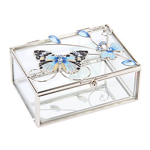 Juliana Blue Butterfly Trinket Box - Product number 1361686