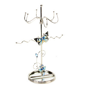 Juliana Blue Butterfly Jewellery Holder - Product number 1361732