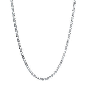 Sterling Silver Flat Sedusa Necklace - Product number 1362038
