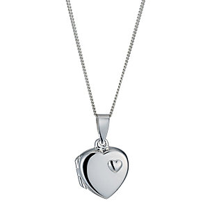 Silver Heart Locket - Product number 1363360