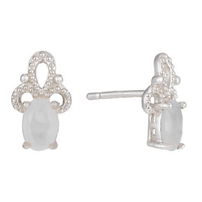 Sterling Silver Fancy Studs - Product number 1363573