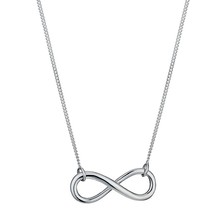 Viva Sterling Silver Infinity Symbol Necklace - Product number 1364243
