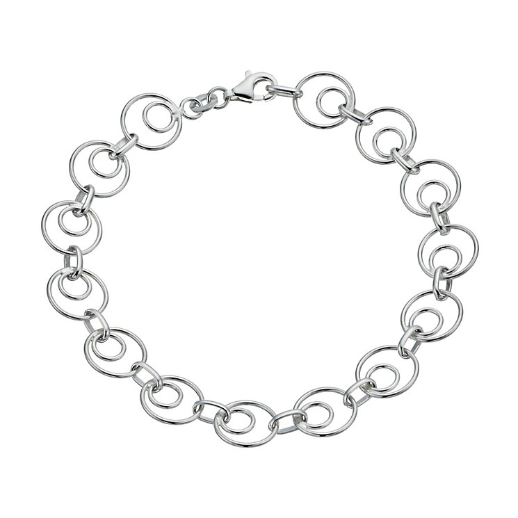 Silver Double Circle Bracelet - Product number 1364480