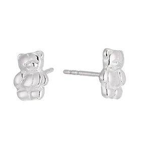 Sterling Silver Children's Forever Friends Stud Earrings - Product number 1364537