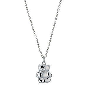Sterling Silver Children's Forever Friends Pendant 14