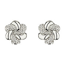 Mikey White Crystal Clip on Earrings - Product number 1364693