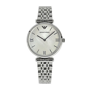 Emporio Armani Ladies' Stainless Steel Bracelet Watch - Product number 1365274