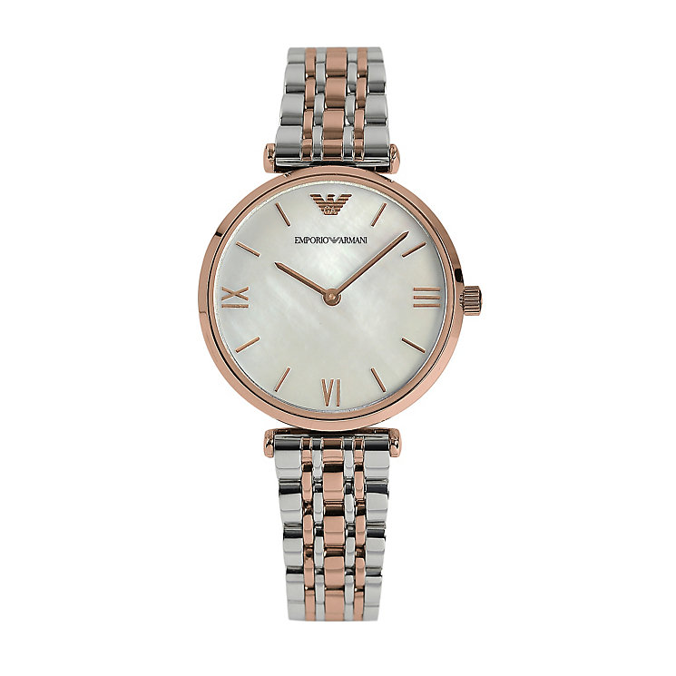 Emporio Armani Ladies' Stainless Steel Bracelet Watch - Product number 1365282