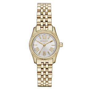 Michael Kors Lexington ladies' gold-plated bracelet watch - Product number 1365355