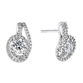 Lumiere Silver With Swarovski Zirconia Elements Earrings - Product number 1366033