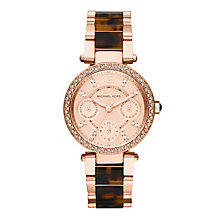 Michael Kors Ladies' Rose Gold Tone Bracelet Watch - Product number 1366076
