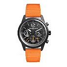 Bell & Ross BR126 Flyback men's orange strap watch - Product number 1366092