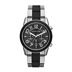 Michael Kors men's black stainless steel bracelet watch - Product number 1366114