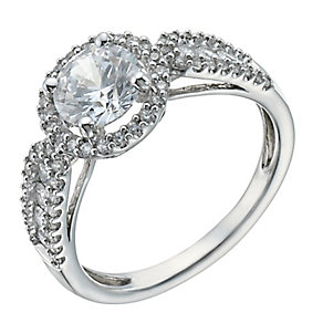 Lumiere Silver With Swarovski Zirconia Elements Ring - Product number 1367633