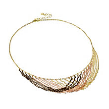 Oxi Colour Silver & Gold-Plated Three Tone Necklace - Product number 1368443