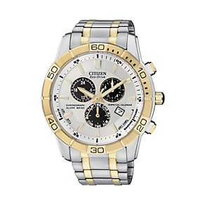 Citizen Eco Drive Men's Two Tone Bracelet Watch - Product number 1370359