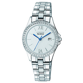 Citizen Eco Drive Ladies' Stainless Steel Bracelet Watch - Product number 1370375