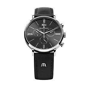 Maurice Lacroix Eliros stainless steel black strap watch - Product number 1370421