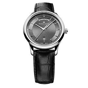 Maurice Lacroix Les Classiques men's black strap watch - Product number 1370529