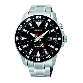 Seiko Kinetic men's stainless steel bracelet watch - Product number 1370588