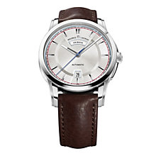 Maurice Lacroix men's stainless steel brown strap watch - Product number 1370618