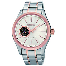 Seiko men's automatic stainless steel bracelet watch - Product number 1370774