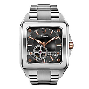 Bulova Men's Automatic Stainless Steel Bracelet Watch - Product number 1370960