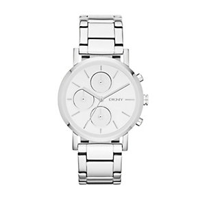 DKNY Lexington ladies' stainless steel bracelet watch - Product number 1371126