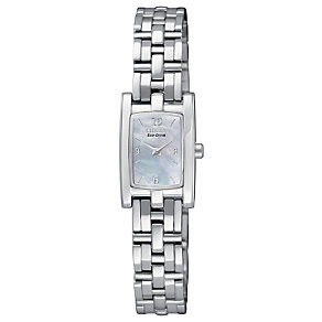Citizen Eco-Drive Ladies' Stainless Steel Bracelet Watch - Product number 1371231