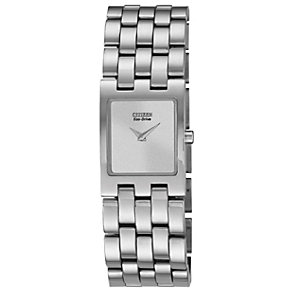 Citizen Eco-Drive Ladies' Stainless Steel Bracelet Watch - Product number 1371363