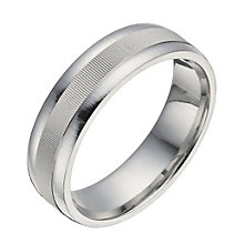Silver groove centre ring - Product number 1371835