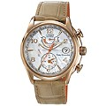 Citizen Eco-Drive Ladies' Chronograph Leather Strap Watch - Product number 1371991