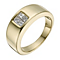 9ct yellow gold 45 point diamond princess cut ring - Product number 1374451