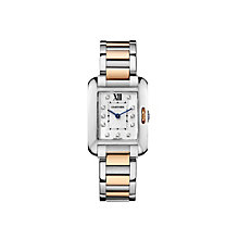 Cartier Tank Anglaise ladies' two colour bracelet watch - Product number 1379585