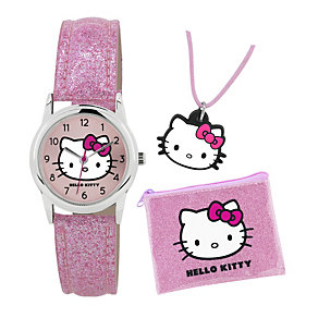 Children's Hello Kitty Watch, Purse and Pendant Set - Product number 1380478