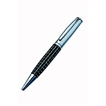Jos Von Arx Black & Steel Ballpoint Pen - Product number 1380494