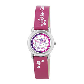 Children's Hello Kitty Pink Strap Watch - Product number 1380648