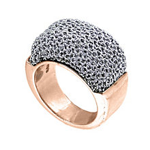Adami & Martucci rose gold-plated mesh ring medium - Product number 1381687